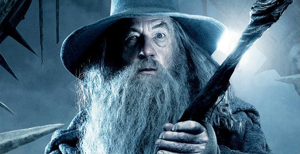 Gandalf O Hobbit A Batalha dos Cinco Exercitos