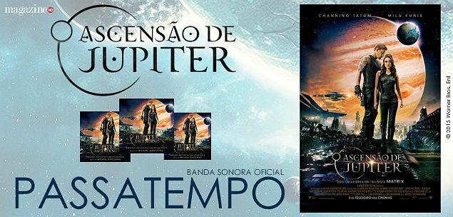 Jupiter Ascending BSO em Passatempo