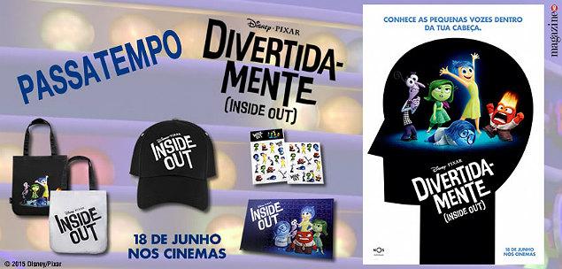 Divertida-mente (Inside Out) Merchandise Banner