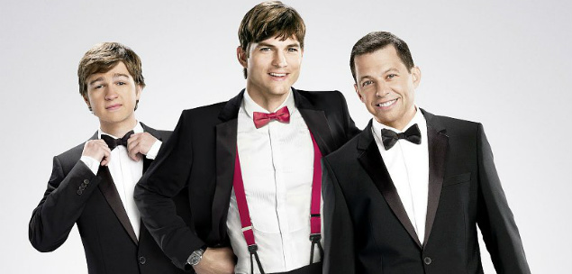 Two and a Half Men T11 AXN White HD Foto I