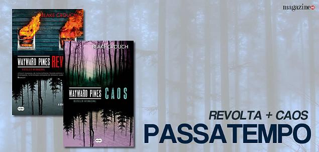Packs Wayward Pines WAYWARD PINES LIVROS 2 3