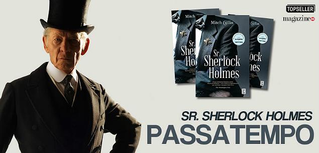 Sr. Sherlock Holmes (Livro) | Passatempo MHD sherlock_livro_pst