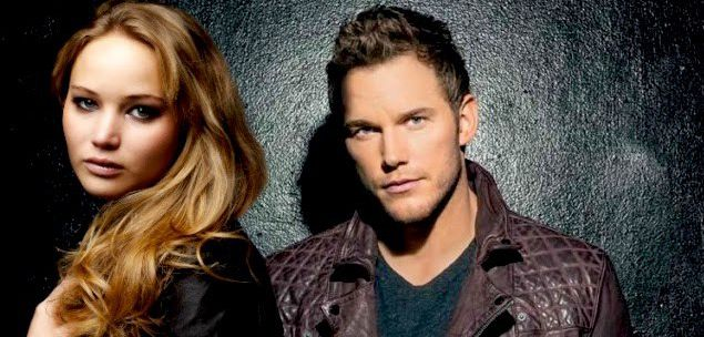 Jennifer Lawrence e Chris Pratt