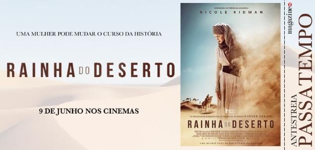 RAINHA-deserto
