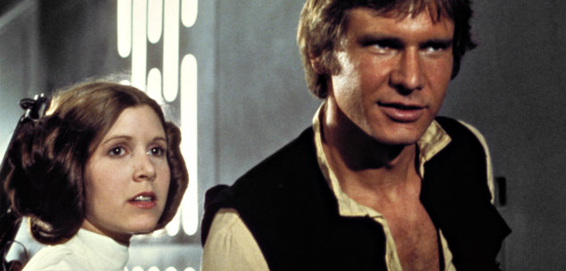 Carrie Fisher Harrison Ford Star Wars caso