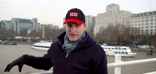lost in london Woody Harrelson