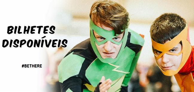 Comic Con Portugal 2017 novidades bilhetes
