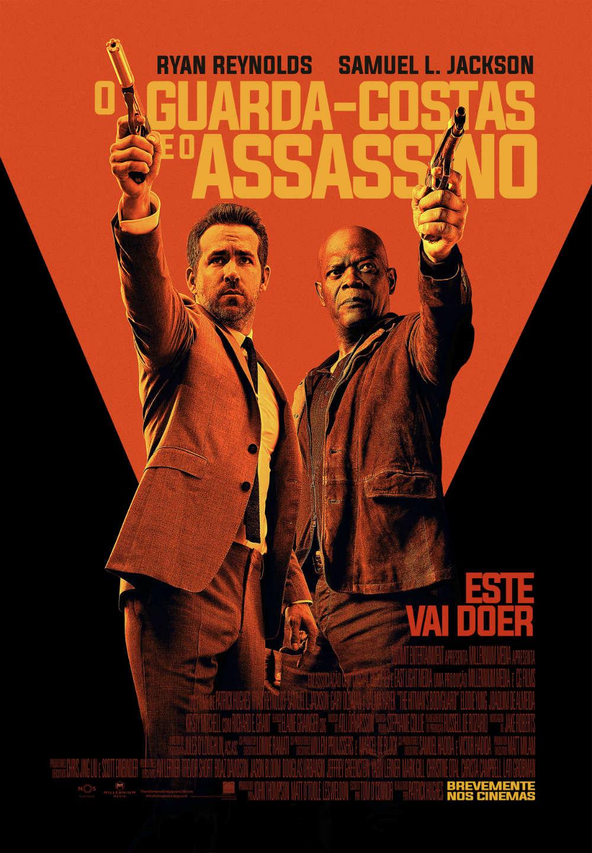 o guarda costas e o assassino poster pt