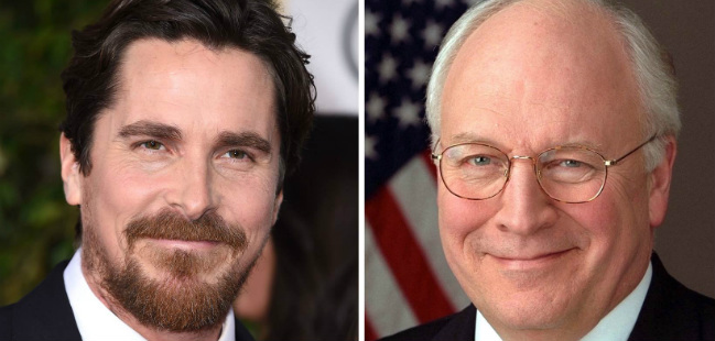 Christian Bale Dick Cheney transformacao