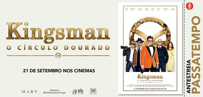 Kingsman Circulo Dourado passatempo
