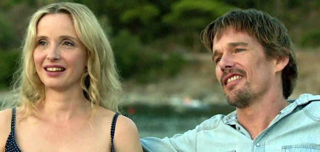 """Ethan Hawke e Julie Delpy em """"Antes da Meia-Noite"""""""