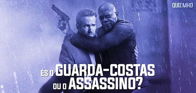 o guarda-costas e o assassino