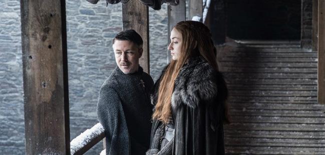 cena apagada em Game Of Thrones