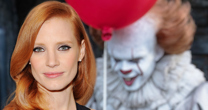 Jessica Chastain Pennywise IT