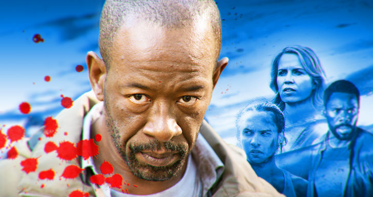 Lennie James The Walking Dead Fear the Walking Dead
