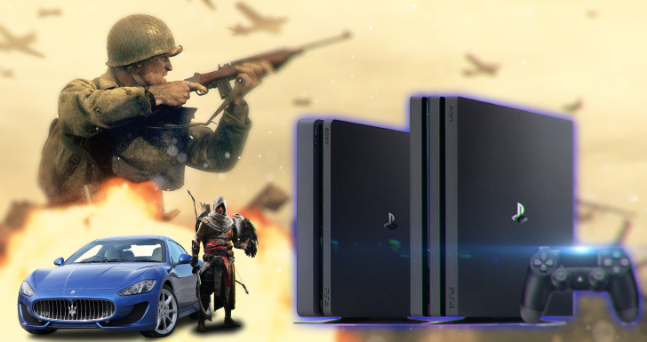 Sony Playstation Call of Duty assassins creed Gran turismo