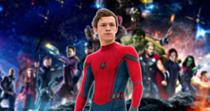 Avengers Infinity War Poster Tom Holland