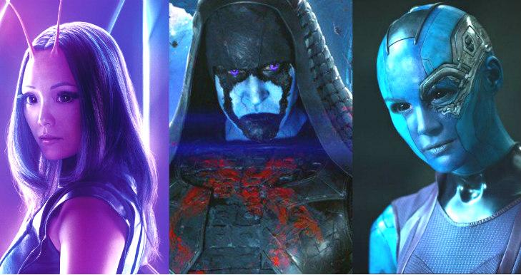 Mantis, Ronan & Nebula marvel