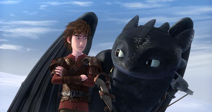 como treinares o teu dragão 3 dreamworks