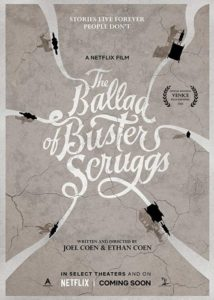 melhores posters the ballad of buster scruggs