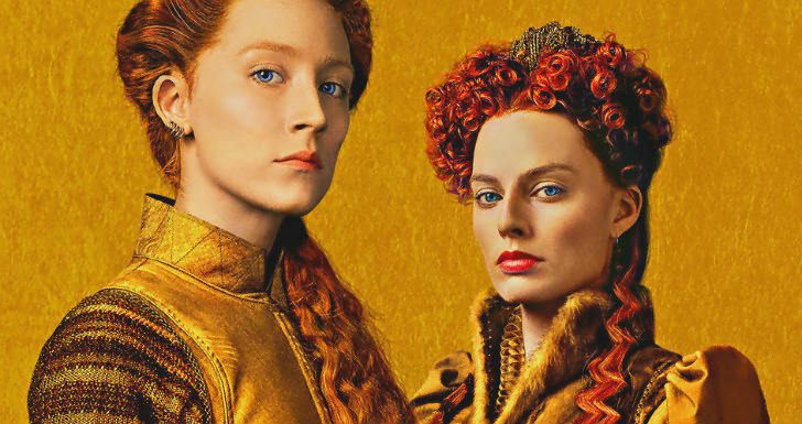 melhores posters outubro mary queen of scots