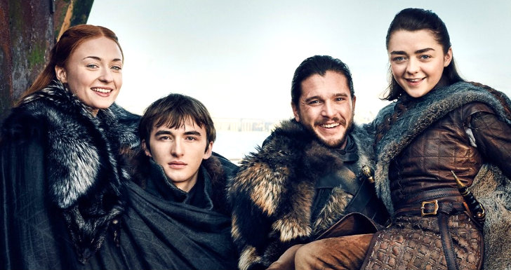 game of thrones stark reunion