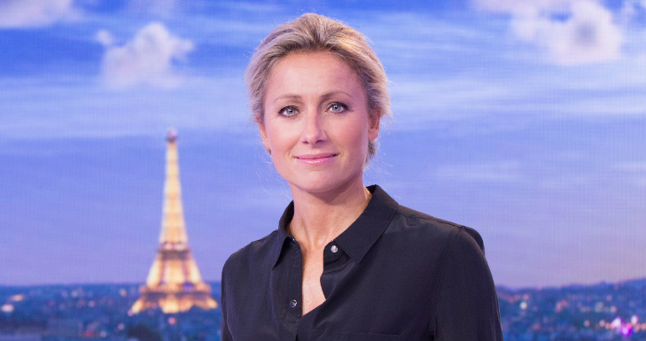 Anne Sophie Lapix_Evening News - France 2