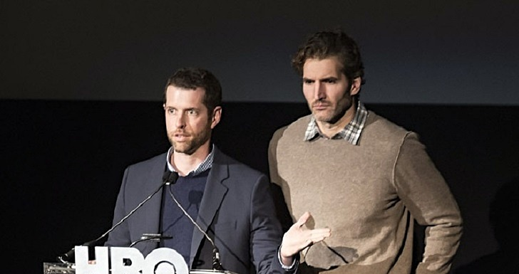 Benioff e Weiss Game of Thrones