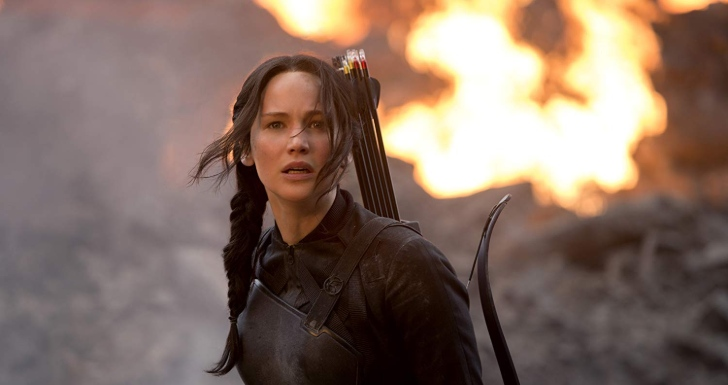 ennifer Lawrence em Hunger Games- A Revolta Parte 1 (2014)