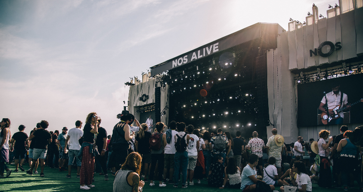 NOS Alive, Billie Eilish, Festivais 2020