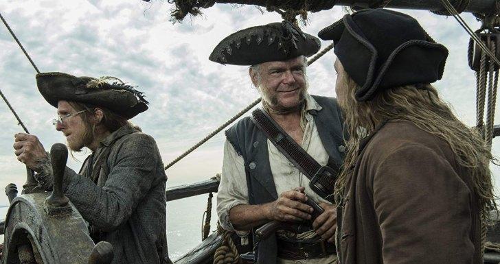 comic con portugal 2019Kevin McNally em _Piratas das Caraíbas_ Homens Mortos Não Contam Histórias_2017
