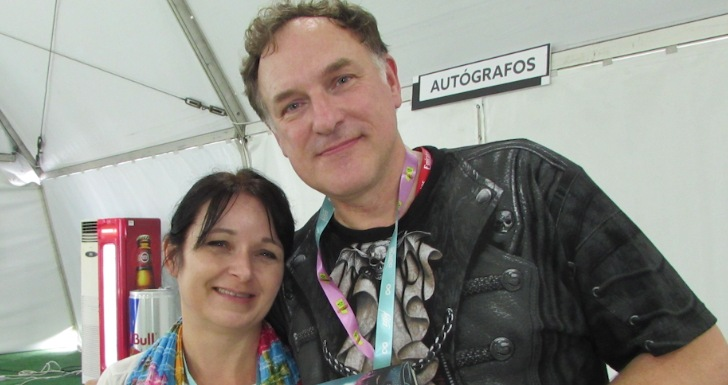 Simon Scarrow Comic Con Portugal