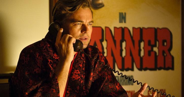 """Leonardo DiCaprio em """"Era Uma Vez em... Hollywood"""" © Big Picture Films"""