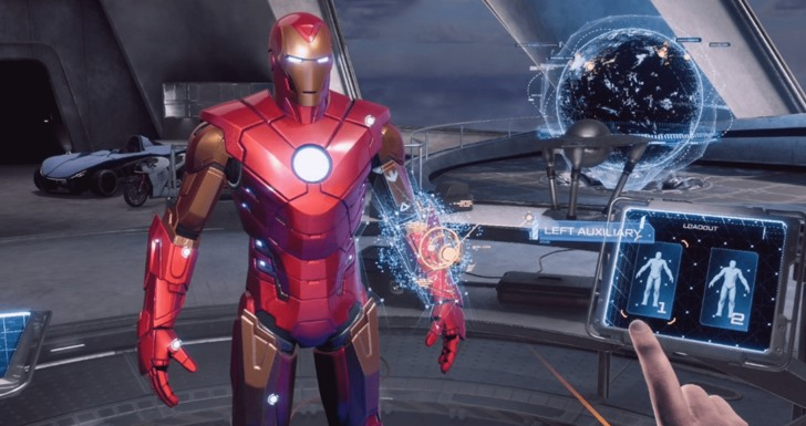 MHD Marvel's Iron Man VR