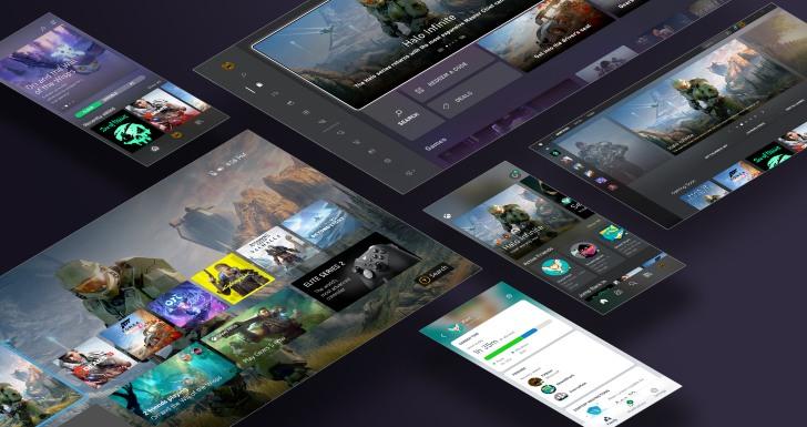 Xbox UI 2020